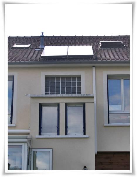Panneau solaire thermique production d eau chaude sanitaire
